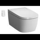 abattant wc japonais avec douche électronique blanc